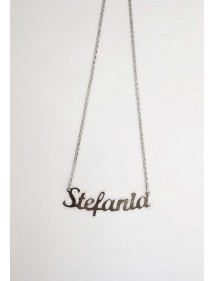 Collana NOMISSIMO G-NOMEARIAL STEFANIA - Shop Online - Gioielleria Fashion