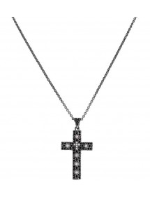 Collana AMEN CCZNB - Shop Online - Gioielleria Fashion